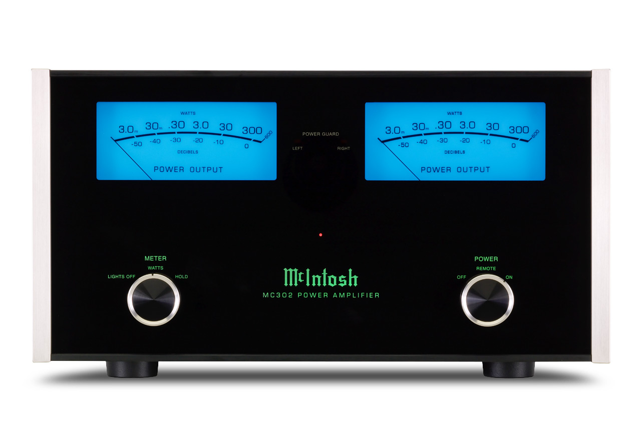 Mcintosh Mc302 2 Channel Amplifiers Power Amplifier